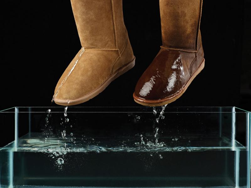 Чем обработать обувь, чтобы не промокала